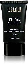 Parfumuri și produse cosmetice Primer matifiant pentru față - Milani Prime Shield Face Primer Mattifying + Pore-minimizing