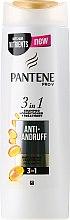 """Parfumuri și produse cosmetice Șampon, balsam și tratament 3în1 """"Împotriva mătreții"""" - Pantene Pro-V Anti-Dandruff 3 in 1 For All Hair Types"""
