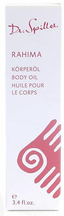 Масло для тела - Dr. Spiller Rahima Body Oil — фото N1