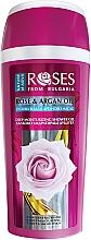 Parfumuri și produse cosmetice Gel de duș, profund hidratant pentru pielea uscată - Nature of Agiva Roses Rose & Argan Oil Deep Moisturizing Shower Gel