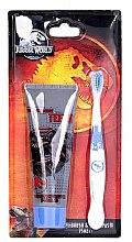 Parfumuri și produse cosmetice Set - Corsair Jurassic World (tpst/75ml + tbrsh/1bucată)