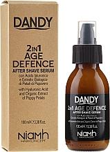 Parfumuri și produse cosmetice Ser facial după ras - Niamh Hairconcept Dandy 2 in 1 Age Defence Aftershave Serum