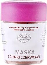 Parfumuri și produse cosmetice Mască de față, cu argilă roșie - Jadwiga Face Mask