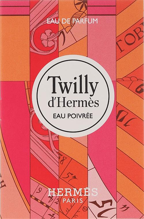 Hermes Twilly d'Hermes Eau Poivree - Apă de parfum (tester)