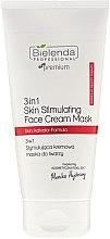 Parfumuri și produse cosmetice Mască de față - Bielenda Professional Individual Beauty Therapy 3in1 Skin Stimulating Face Cream Mask