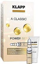 "Parfumuri și produse cosmetice Set ""Vitamina A"" - Klapp A Classic Power Set (conc/3x2ml + cr/3ml)"
