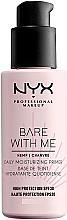 Parfumuri și produse cosmetice Primer hidratant pentru față SPF30 - NYX Professional Makeup Bare With Me Hemp Deily Moisturizing Primer