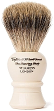 Parfumuri și produse cosmetice Pămătuf de ras, P2234, bej - Taylor of Old Bond Street Shaving Brush Pure Badger size M