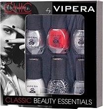 Parfumuri și produse cosmetice Set lacuri - Vipera Chic Vacation Beauty Pics (n/pol/5,5mlx6) (06)