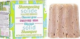 Parfumuri și produse cosmetice Șampon solid pentru păr gras - Lamazuna Solid Shampoo For Oily Hair With Litsea Cubeba