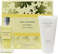 Parfumuri și produse cosmetice Angel Schlesser Eau Fraiche Citrus Pomelo - Set (edt/100ml+sh/gel/150ml)
