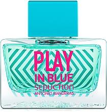 Духи, Парфюмерия, косметика Antonio Banderas Play In Blue Seduction - Туалетная вода