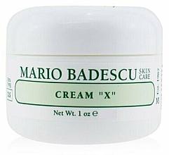 Parfumuri și produse cosmetice Cremă pentru pielea uscată - Mario Badescu Cream X