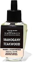 Parfumuri și produse cosmetice Bath and Body Works Mahogany Teakwood Wallflowers Fragrance - Difuzor de aromă (rezervă)