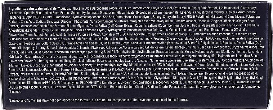 Set pentru îngrijirea tenului sensibil - Dermalogica UltraCalming Skin Kit (gel/7ml + essence/7ml + gel/10ml + ser/5ml) — Imagine N2