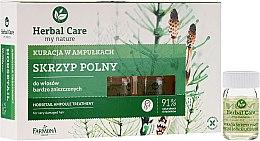 Parfumuri și produse cosmetice Tratament fiole cu extract de Coada-Calului - Farmona Herbal Care Horsetail Ampoule Treatment