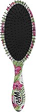 Parfumuri și produse cosmetice Pieptene de păr - Wet Brush Detangle Professional Pink Floral