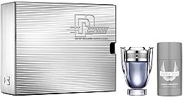 Parfumuri și produse cosmetice Paco Rabanne Invictus - Set (edt/50ml + deo/75ml)