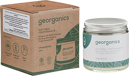 Pastă de dinți - Georganics Spearmint Natural Toothpaste