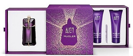 Thierry Mugler Alien - Set (edp/60ml + b/lot/100ml + sh/gel/100ml)