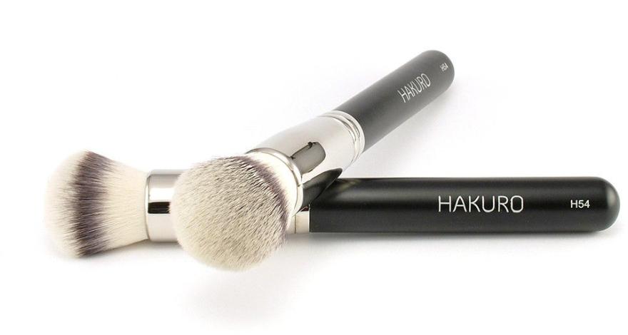 """Pensulă pentru fond de ten """"H54"""" - Hakuro — Imagine N1"""