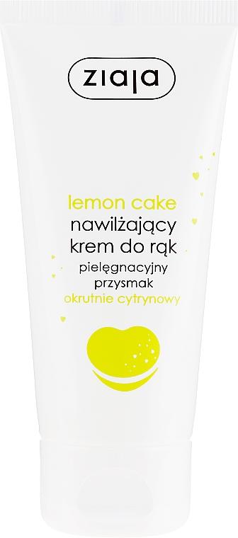 "Cremă de mâini ""Lemon cake"" - Ziaja Hand Cream — Imagine N1"