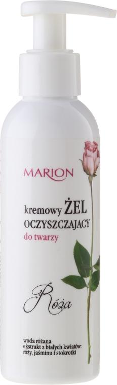 """Gel de curățare pentru față """"Trandafir"""" - Marion — Imagine N1"""