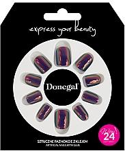 Parfumuri și produse cosmetice Set unghii false cu adeziv, 3059 - Donegal Express Your Beauty