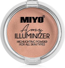 Parfumuri și produse cosmetice Pudra-highlighter - Miyo Illuminizer Highlighting Powder