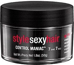 Parfumuri și produse cosmetice Ceară pentru styling - SexyHair StyleSexyHair Control Maniac Styling Wax
