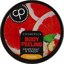 Духи, Парфюмерия, косметика Peeling de zahăr cu aromă de grapefruit și ghimbir pentru corp - Cosmepick Body Peeling Grapefruit & Ginger