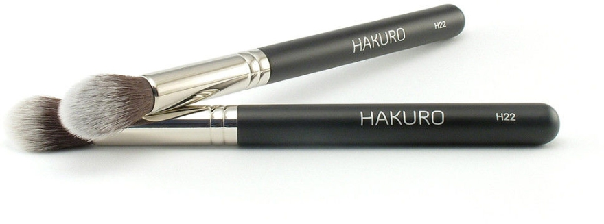 """Pensulă pentru conturul feței """"H22"""" - Hakuro — Imagine N1"""