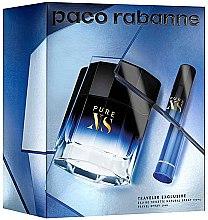 Parfumuri și produse cosmetice Paco Rabanne Pure XS - Set (edt/100ml + edt/mini/20ml)