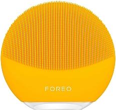 Parfumuri și produse cosmetice Perie de curățare și masaj pentru față - Foreo Luna Mini 3 Facial Cleansing Brush Sunflower Yellow
