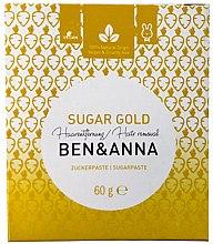 Parfumuri și produse cosmetice Pastă de zahăr pentru epilare - Ben & Anna Sugar Gold Hair Removal