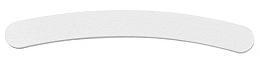 Parfumuri și produse cosmetice Pilă de unghii, albă, 100/180 - Tools For Beauty Nail File Banana White