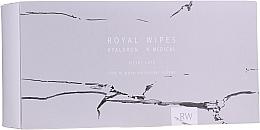 Parfumuri și produse cosmetice Șervețele de îngrijire pentru pielea sensibilă a feței și a corpului - N-Medical Hyaluron Royal Silver Care Wipes