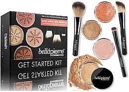 Parfumuri și produse cosmetice Set pentru machiaj - Bellapierre Get Started Kit Dark