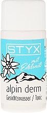 Parfumuri și produse cosmetice Tonic pentru față - Styx Naturcosmetic Alpin Derm Tonic
