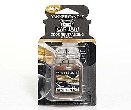 Parfumuri și produse cosmetice Aromatizator auto - Yankee Candle New Car Scent Jar Ultimate
