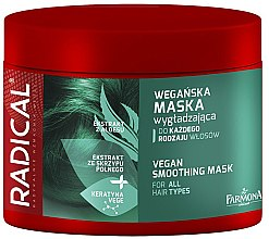 Parfumuri și produse cosmetice Mască de păr - Farmona Radical Vegan Smoothing Hair Mask
