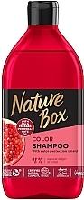 Parfumuri și produse cosmetice Șampon - Nature Box Pomegranate Oil Shampoo