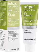 Parfumuri și produse cosmetice Cremă de zi împotriva primelor riduri pentru față SPF30 - Tolpa Dermo Face Futuris 30+ Face Cream SPF30