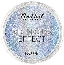 Parfumuri și produse cosmetice Pudră pentru designul unghiilor - NeoNail Professional 3D Holo Effect