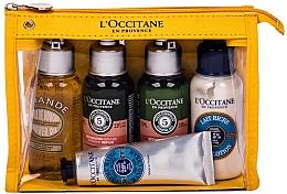 Parfumuri și produse cosmetice Set - L'Occitane Best Of Provence (oil/75ml + sh/75ml + cond/75ml + lot/75ml + h/cr/30ml + bag)