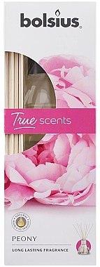 "Аромадиффузор ""Пион"" - Bolsius Fragrance Diffuser True Scents Peony — фото N2"