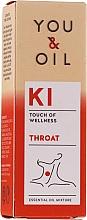 Parfumuri și produse cosmetice Amestec de uleiuri esențiale - You & Oil KI-Throat Touch Of Welness Essential Oil