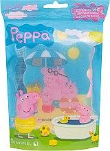 """Parfumuri și produse cosmetice Burete de baie pentru copii """"Peppa Pig"""", Familia Peppei - Suavipiel Peppa Pig Bath Sponge"""