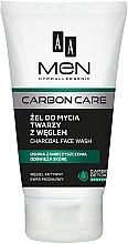 Parfumuri și produse cosmetice Gel de curățare cu cărbune - AA Men Carbon Care Charcoal Face Wash