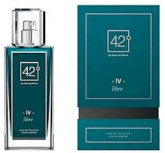 Parfumuri și produse cosmetice 42° by Beauty More IV Libre - Apă de toaletă